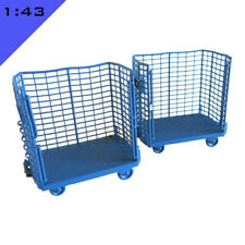 More details for 2x 3d printed brute trolley 1:43 o model miniature diorama scenery