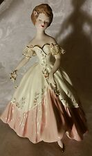 Extremely Rare Florence Ceramics Figurine Carol in Pink Excellent Condition