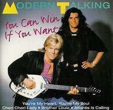 MODERN TALKING : YOU CAN WIN IF YOU WANT / CD - TOP-ZUSTAND