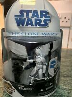 Star Wars The Clone Wars 2008 Clone Trooper with Space Gear Action Figure  No.5