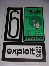 EXPLOIT COMICS  N° 6 ( DEDICATO AL PERSONAGGIO DI  TILLIE THE TOILER ) 1977