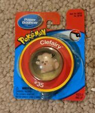 Vintage Hasbro Pokemon Power Bouncer #35 Clefairy Bouncy Ball Nintendo New 1999