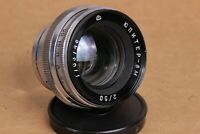 50mm f/2 JUPITER-8M Soviet Lens copy Sonnar Mount CONTAX For KIEV Vintage