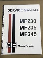 235 Massey Ferguson Tractor Technical Service Shop Repair Manual MF235 MF 235