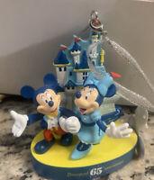 New Disneyland 65th Anniversary Ornament Parks NEW 2020 Mickey Mouse Minnie