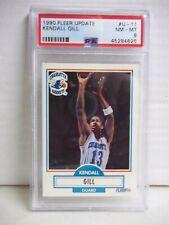 1990 Fleer Kendall Gill RC PSA NM-MT 8 Basketball Card #U-11 NBA