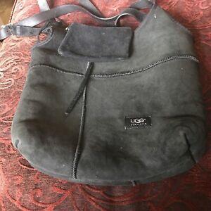 Ugg Black Hobo Bag