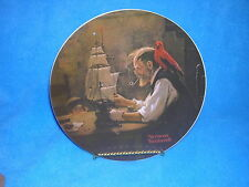 Norman Rockwell The Ship Builder 4th Plate in Heritage Collection, Knowles China