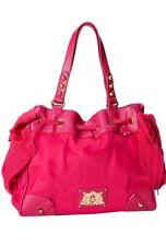 NWT Juicy Couture MALIBU NYLON MINI DAYDREAMER Handbag YHRU3350-Hot Pink