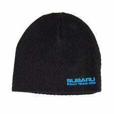 Genuine Subaru Rally Team Usa Knit Beanie Cap Hat WRX Sti Racing Impreza Black