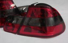Noir Lot de feux arrière pour BMW E46 3er COUPE 1999-2003 ROUGE RED SMOKE NOIR