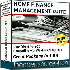 Home Finance & Personal Accounting Software Package Financial Management On PC