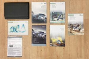 DRIVERS HANDBOOK SET / OWNERS MANUAL PACK - Jaguar S-Type 2004-2007 #9602