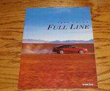 Original 1998 Volvo Full Line Sales Brochure 98 C70 S70 V70 S90 V90