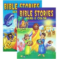 BIBLE STORIES Coloring Book | 2-Title