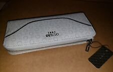 Guess Est. 1981 Womens Wallet Color Brown Leather Zip Around Brand New With tags