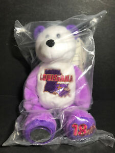 NEW Limited Treasures LOUISIANA State Quarter Coin Bear w/Tags RETIRED 2002 L@@K