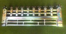 """New Copper Lustre vitreous enamel regal Fire Fret Fender Front  for 18"""" opening"""