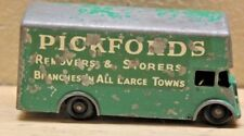 Vintage Lesney Pickfords Removal Van No. 46 Green Moving Truck England 1960's