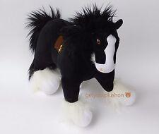 "Disney Store * Pixar * Brave * Angus * Large Black Horse Plush 14"" Tall"