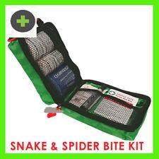 First Aid Snake Bite Kit X2 Kits Now With Indicator Bandage