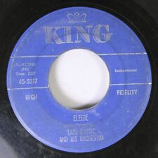 Soul 45 Earl Bostic And His Orchestra - Elegie / Out Of Nowhere On King