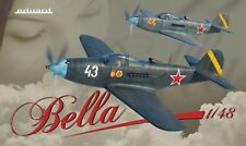 Eduard 11118 1:48th scale Limited Edition Bella Aircobra Dual Combo 2 kits 1 box