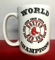 Boston Red Sox 15 oz Ceramic Coffee Mug World Series Champions