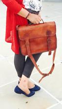 Vintage season sale Satchel Leather Messenger Bag Shoulder Laptop Briefcase