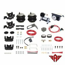 Firestone Ride-Rite 2809 Air Bag Kit & Analog Air Compressor 2500HD, 3500HD Rear