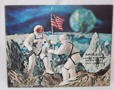 Vintage Apollo 11 Lands First Men on the Moon July 20, 1969 Hologram 14x11 NASA