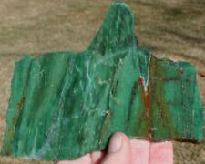 AUSTRALIAN PRASE SLAB 175 grams Specimen/jasper/agate/rock/mineral/cab/gem