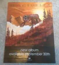 Weezer poster 2014 Alright In The End 2 Sided band photo album art