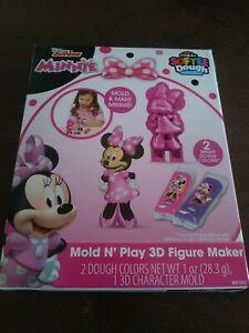 Minnie Mouse Disney Junior Mold N play 3d Figure Maker