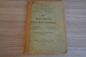 Maladies des machoires par Ombredanne et Brocq 1927 / A8NP