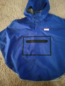 Hunter for Target Limited Edition Blue Adult Poncho gently worn XS/S