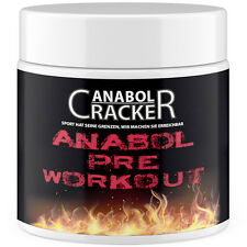 ANABOL PRE WORKOUT - bester Muskelaufbau Booster / AAKG + Beta Alanine + Taurin