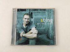 STING - ...ALL THING TIME - CD+DVD A&M 2001 - NM/NM