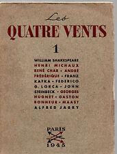 LES QUATRE VENTS. N°1 SOUS LA DIRECTION DE HENRI PARISOT