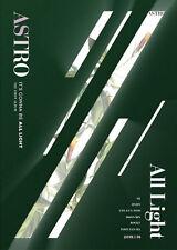 ASTRO [ALL LIGHT] 1st Album GREEN CD+POSTER+PBook+Post Card Set+Sticker+Card+etc