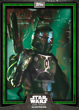 Topps Star Wars Card Illustrated Series 6 W2 #1 Green Boba Fett [DIGITAL] CTI