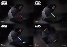 Star Wars Ombrello Spada Laser Light Up Star Wars LIGHTSABER UMBRELLA Originale