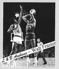 NY Knicks WALT FRAZIER Clyde 1972 Bucks Photo Pumas