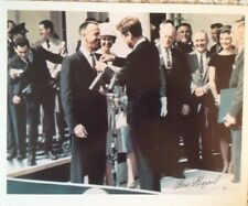 NASA Astronaut Alan Shepard Freedom 7 Signed Photograph with President Kennedy