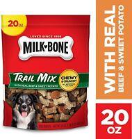 Milk-Bone Trail Mix Chewy & Crunchy Dog Treats, Beef & Sweet Potato 20 Oz. Pouch