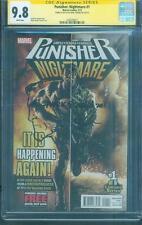 Punisher 1 CGC SS 9.8 Mark Texeira Original art sketch Walking Dead Scott Gimple