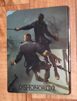 Dishonored 2 Extremely Rare Steelbook G2 PS4 Xbox One NO GAME