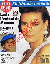 Point de vue n°2314 du 08/12/1992 Stéphanie de Monaco mère Windsor Vienne