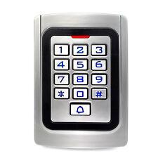 Waterproof RFID EM Card Reader Home Door Access Control Keypad Entry Controller