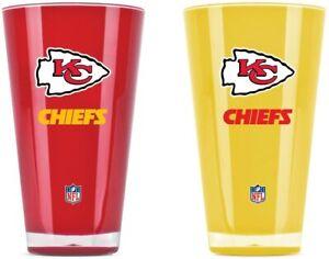 Kansas City Chiefs Set of 20 oz Tumblers - NFL